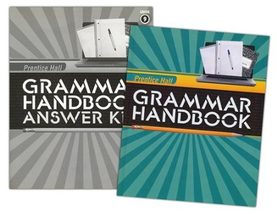 Prentice Hall Grammar Handbook Grade 9 Homeschool Bundle    -