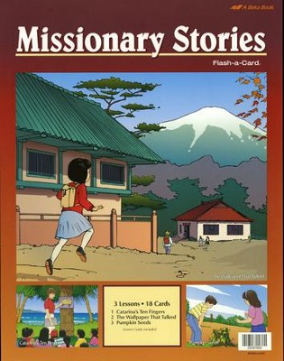 Abeka Missionary Stories Flash-a-Card Set   -