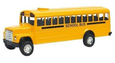 Die-Cast School Bus  -