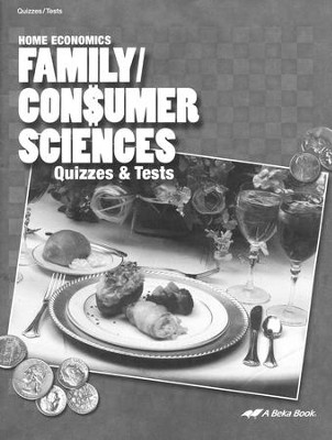 Abeka Family/Consumer Sciences Quizzes & Tests   -