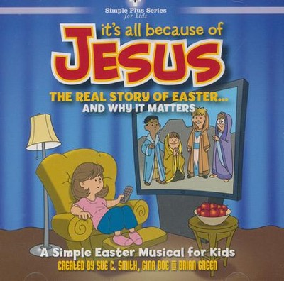 It's All Because of Jesus (Listening CD)   -