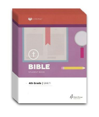 Lifepac Bible, Grade 4, Workbook Set   -     By: Alpha Omega