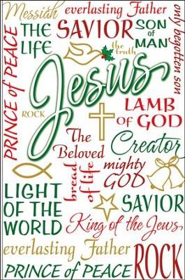 names of jesus christmas cards box of 20 - Jesus Christmas Cards