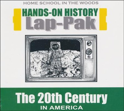 Hands-On History Lap Pak on CD-ROM: The 20th Century in America (Grades 3-8)  -