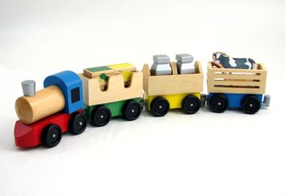 Farm Train, Classic Toy   -