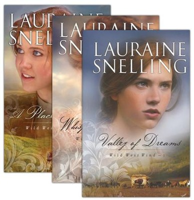 Wild West Wind Series, Volumes 1-3  -     By: Lauraine Snelling