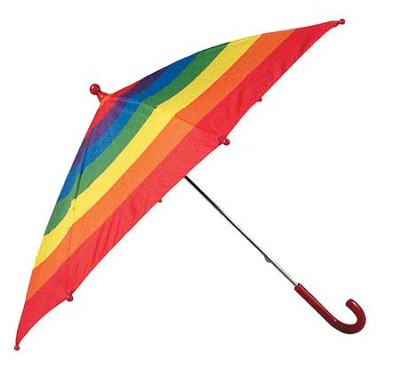 Rainbow Child Umbrella  -