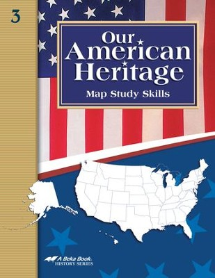 Abeka Our American Heritage Student Map Skills Book   -