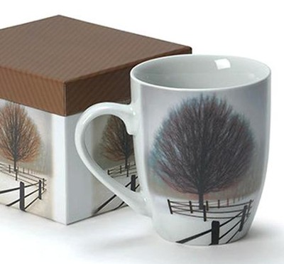 Be Still Boxed Mug    -     By: David Winston