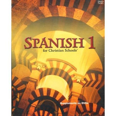 BJU Spanish 1, DVD Supplement   -