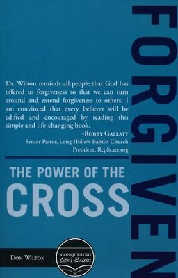 Forgiven: The Power of the Cross  -     By: Don Wilton