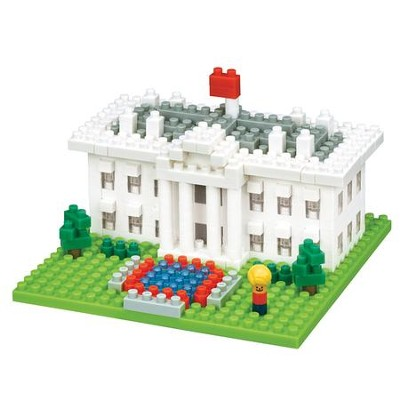 Nano Blocks, White House   -