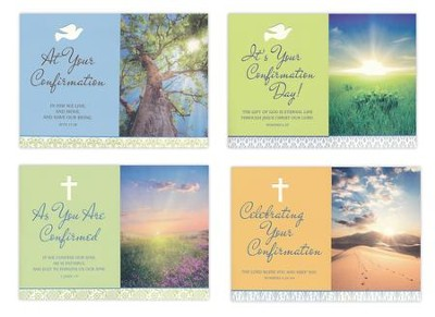 Gift Of the Spirit, Confirmation Cards, Box of 12  -