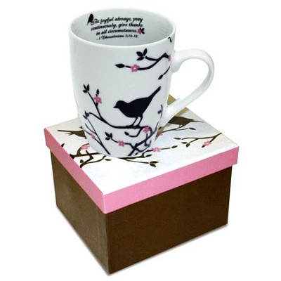 1 Thessalonians 5:16-18. Mug with Gift Box   -