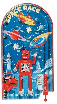 Space Race Pinball  -