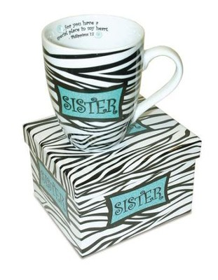 Philippians 1:7 Sister Mug with Gift Box   -