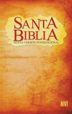 NVI Santa Biblia, NIV Spanish Bible - Slightly Imperfect  -