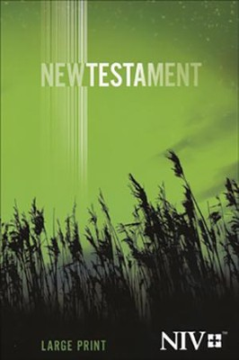 NIV Large-Print New Testament   -