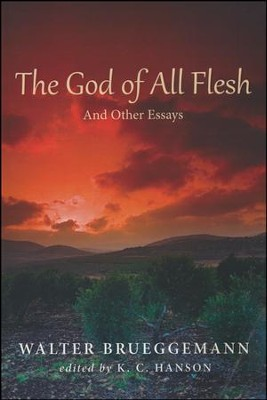 The God of All Flesh: And Other Essays  -     Edited By: K.C. Hanson     By: Walter Brueggemann