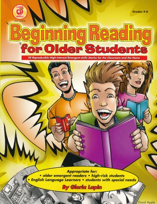 Beginning Reading for Older Students  -
