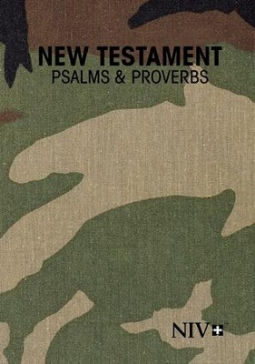 NIV Woodland Pocket New Testament Psalms Proverbs, Paper  -