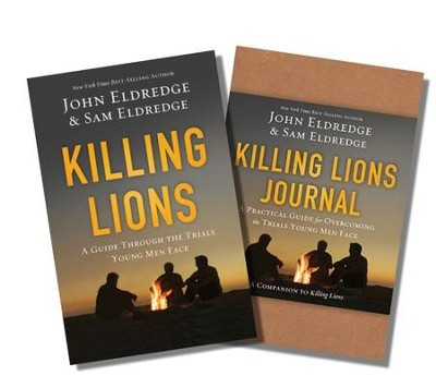 Killing Lions, Book and Study Guide, 2 Volumes  -     By: John Eldredge, Samuel Eldredge