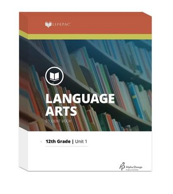 Lifepac Language Arts, Grade 12, Workbook Set   -     By: Alpha Omega