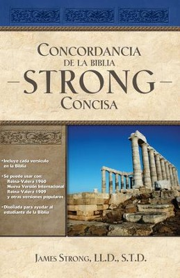 Concordancia de la Biblia Strong Concisa - eBook  -     By: James Strong