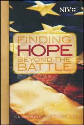 NIV Finding Hope Beyond The Battle Bible, softcover  -