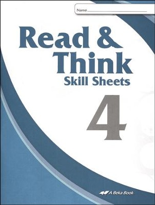 Abeka Read & Think Skill Sheets 4   -