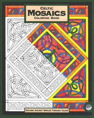 Celtic Mosaics, Coloring Book   -