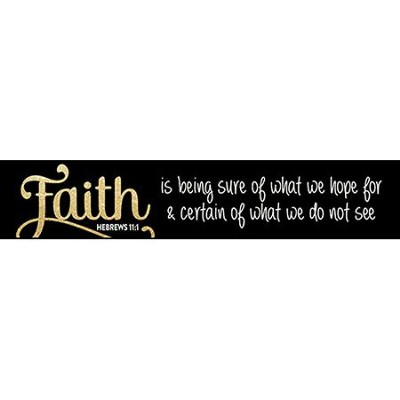 Faith Is Being Sure, Glitter Stick  -