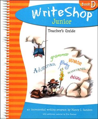 Write Shop Junior  Teacher's Guide, Book D   -