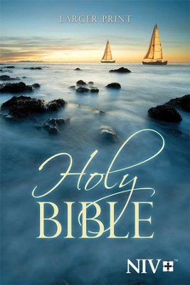NIV Larger-Print Bible   -
