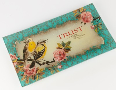 Trust in the Lord, Glass Tray  -