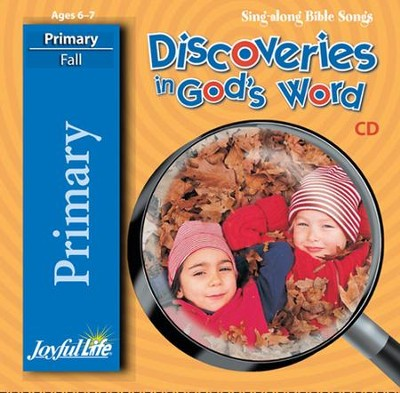 Discoveries in God's Word Primary (Grades 1-2) Audio CD   -