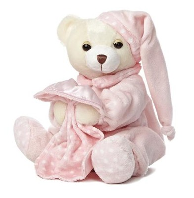 Dreamy Baby Girl Plush Bear  -