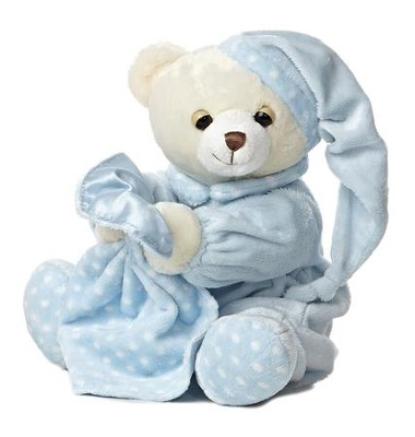Dreamy Baby Boy Plush Bear  -