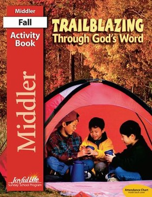 Trailblazing through God's Word Middler (Grades 3-4) Activity Book  -