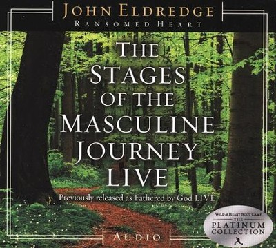 The Stages of the Masculine Journey LIVE - Compact Disc   -     By: John Eldredge