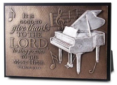 Praise, Mini Sculpture Plaque  -