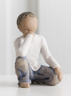 Willow Tree, Inquisitive Child Figurine  -     By: Susan Lordi