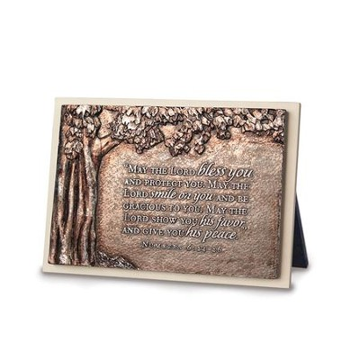 May the Lord Bless You and Protect You Plaque  -