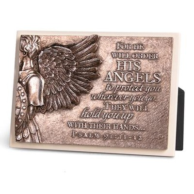 Angel Wing Plaque  -