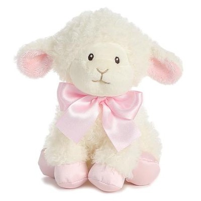 Blessings Lamb, Pink  -