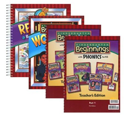 BJU K5 Beginnings Homeschool Kit, Third Edition   -