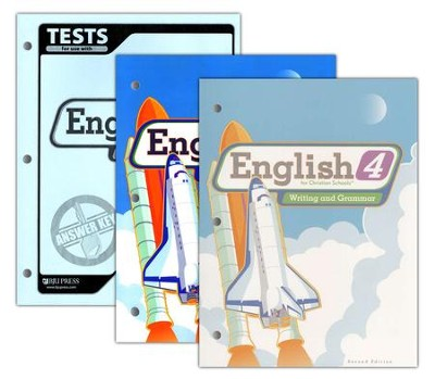 BJU English: Writing & Grammar Grade 4, Homeschool Kit (Second Edition)  -