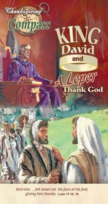King David and a Leper Thank God Compass Handout   -