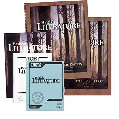 BJU British Literature Grade 12, Homeschool Kit (Revised Edition)    -