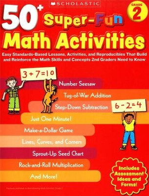 50+ Super-Fun Math Activities: Grade 2: Math Skills and Concepts 2nd Graders Need to Know  -     By: Margaret Creed